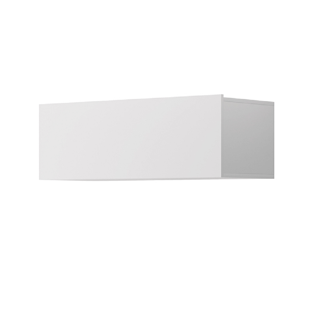 Faliszekrény, fehér, SPRING ED90