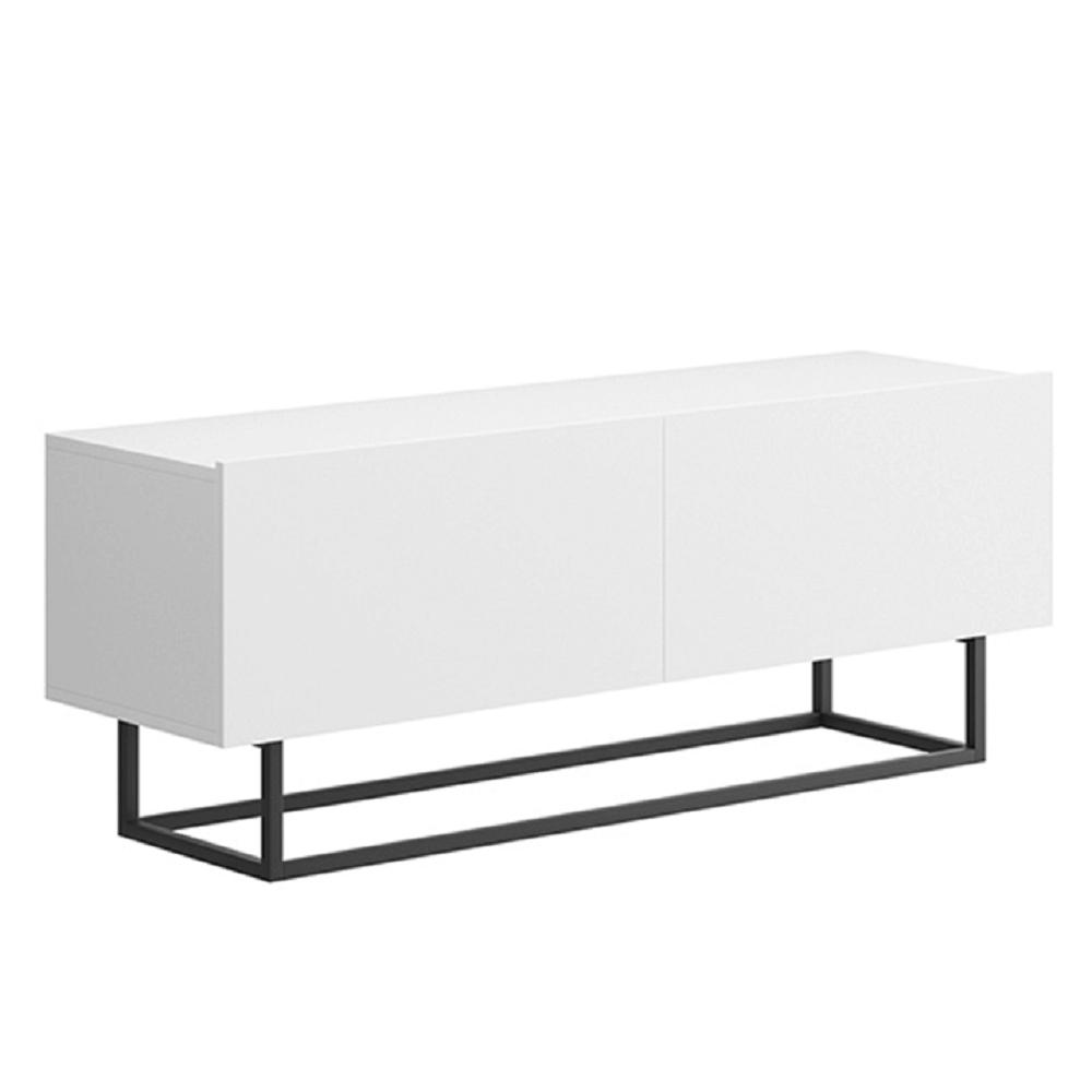 RTV stolík bez podstavy, biela, Spring ERTV120