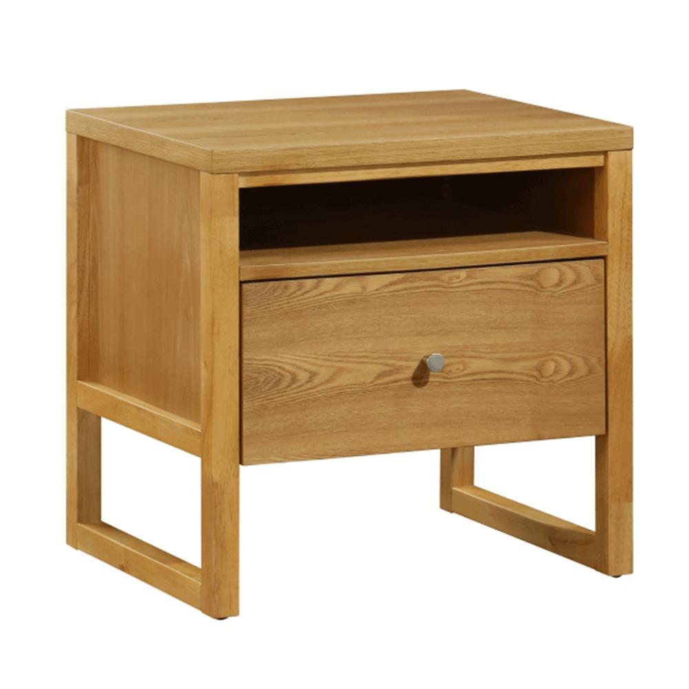 Noční stolek, dub, IRISUN
