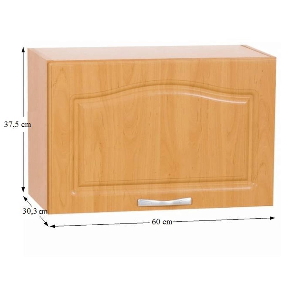 Horní skříňka, olše, LORA MDF NEW KLASIK W600K