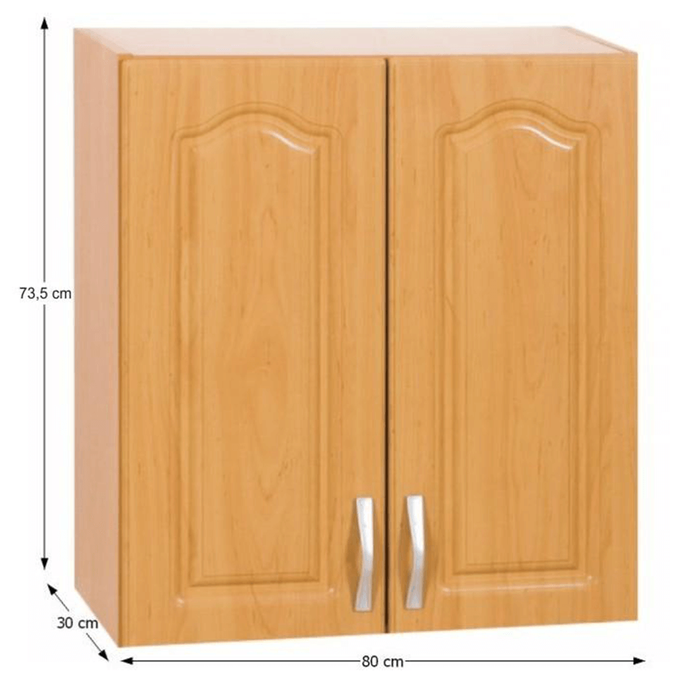 Horní skříňka, olše, LORA MDF NEW KLASIK W80 / 735