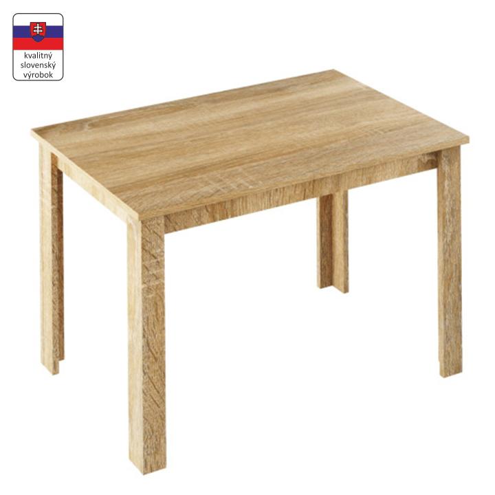 Jedálenský stôl, dub sonoma, LAURENCI