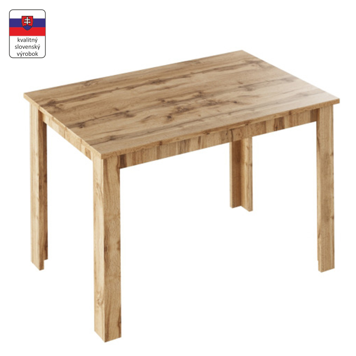 Jedálenský stôl, dub wotan, LAURENCI