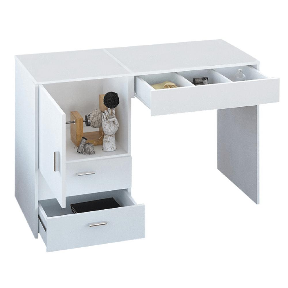 Többfunkciós asztal/asztal a varrónők számára, fehér, TAILOR