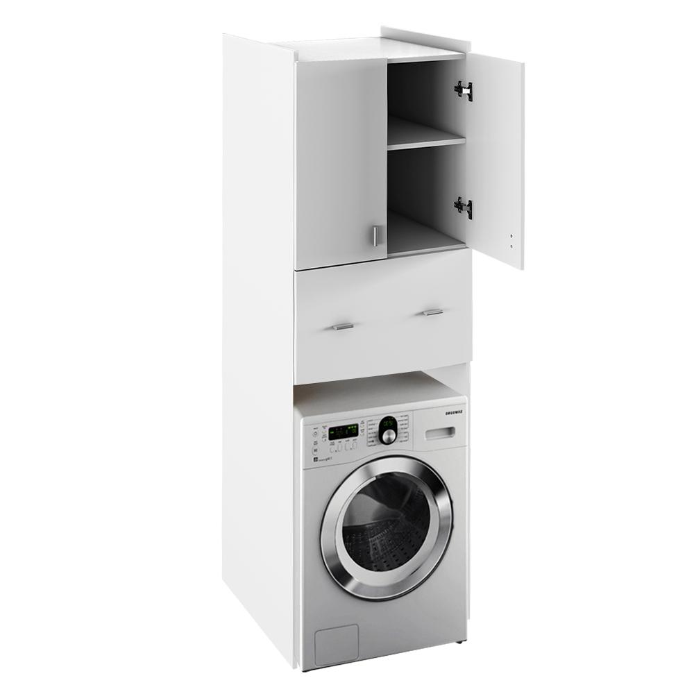 Dulap adânc deasupra mașinii de spălat, alb, NATALI TYP 9