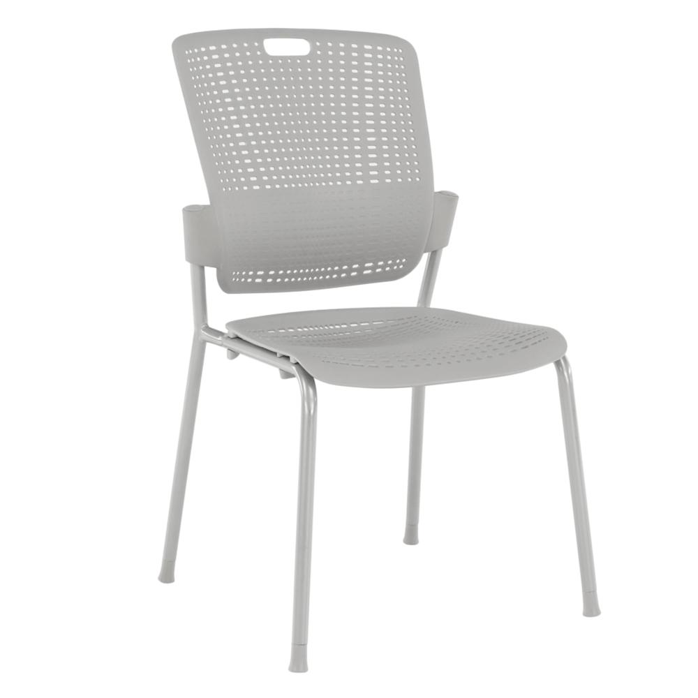 Rakásolható szék, szürke, NERGIS