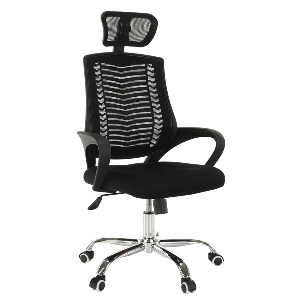 Kancelárske kreslo, čierna, IMELA TYP 1