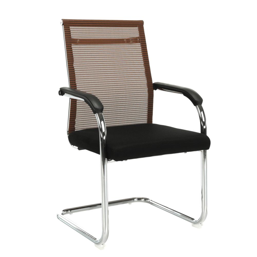 Scaun de ședință, maro/negru, ESIN