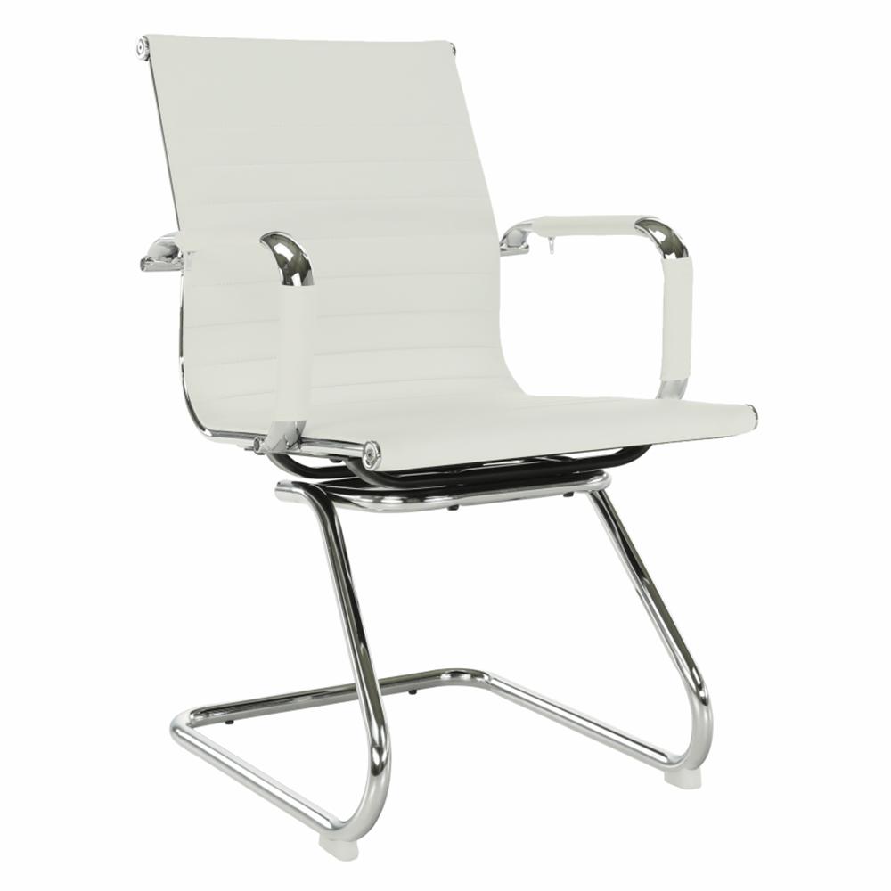 Zasadacia stolička, biela, AZURE 2 NEW TYP 2