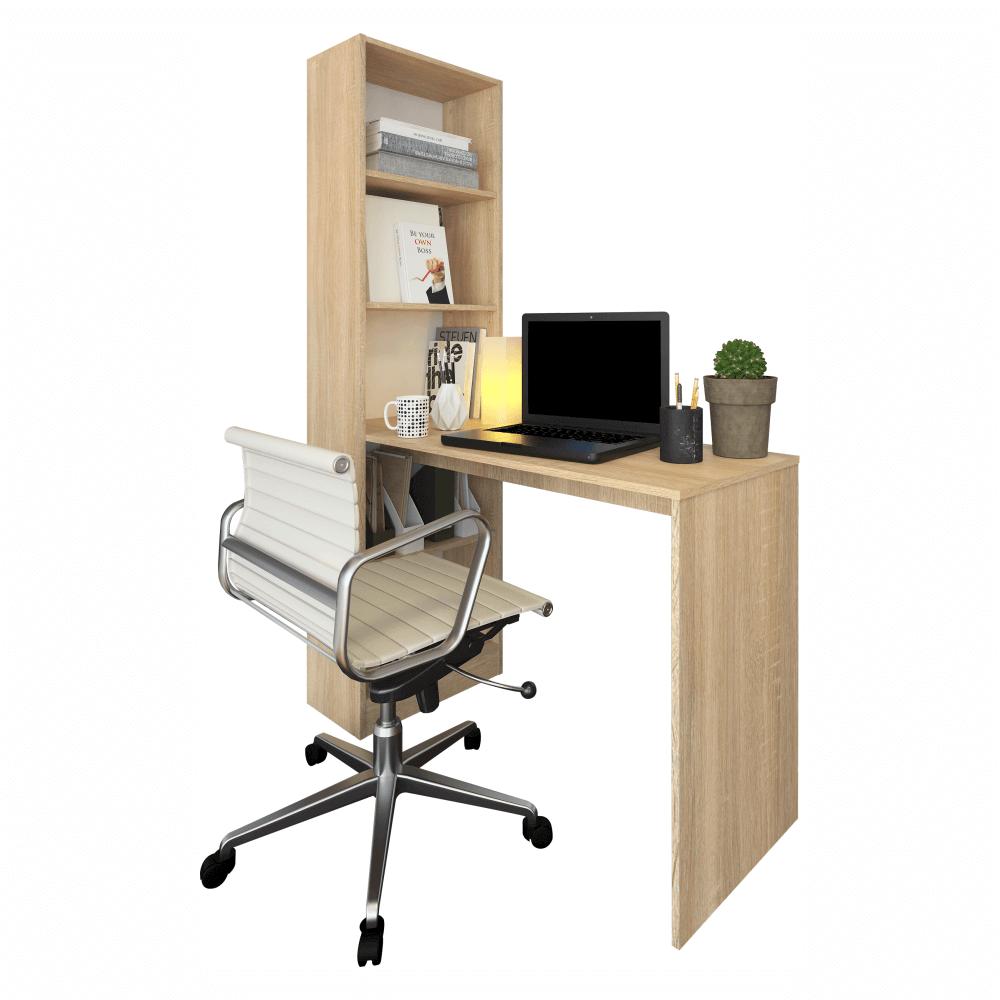 Masă (birou) multifuncțională, stejar sonoma, JASMIN