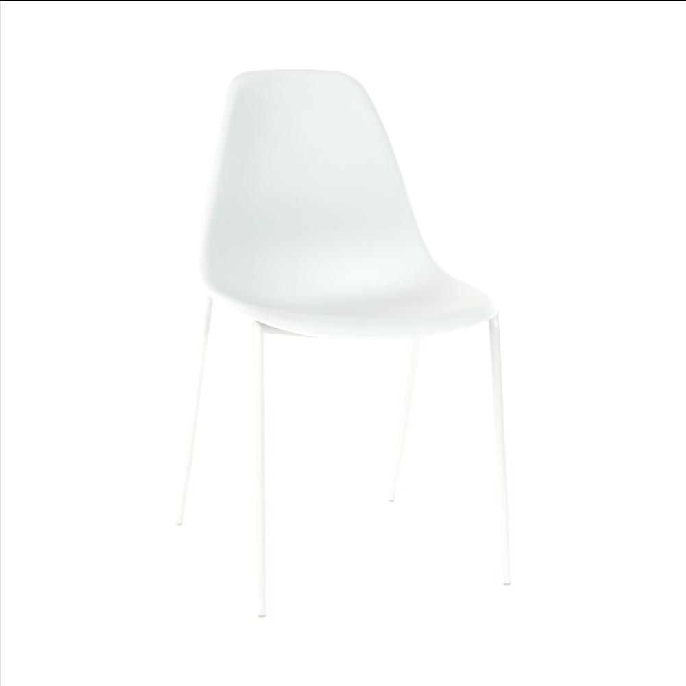 Stolička, biela, LITIA