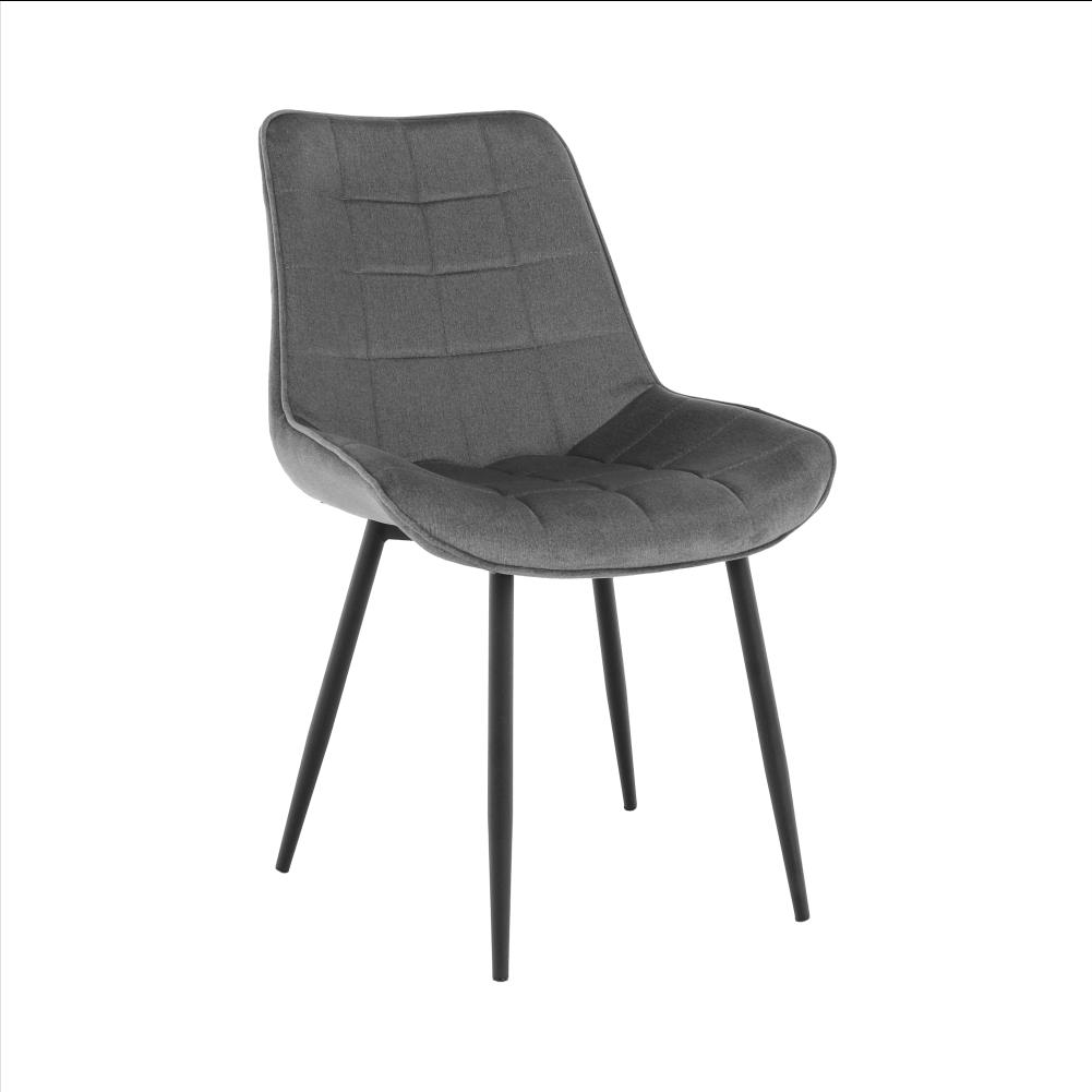 Stolička, sivá/čierna, SARIN