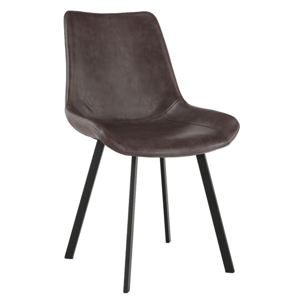 Jedálenská stolička, hnedá, NIRO