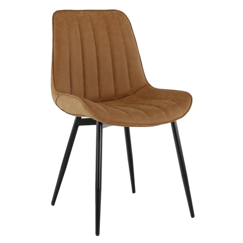 Židle, hnědá camel / černá, Hazal, TEMPO KONDELA