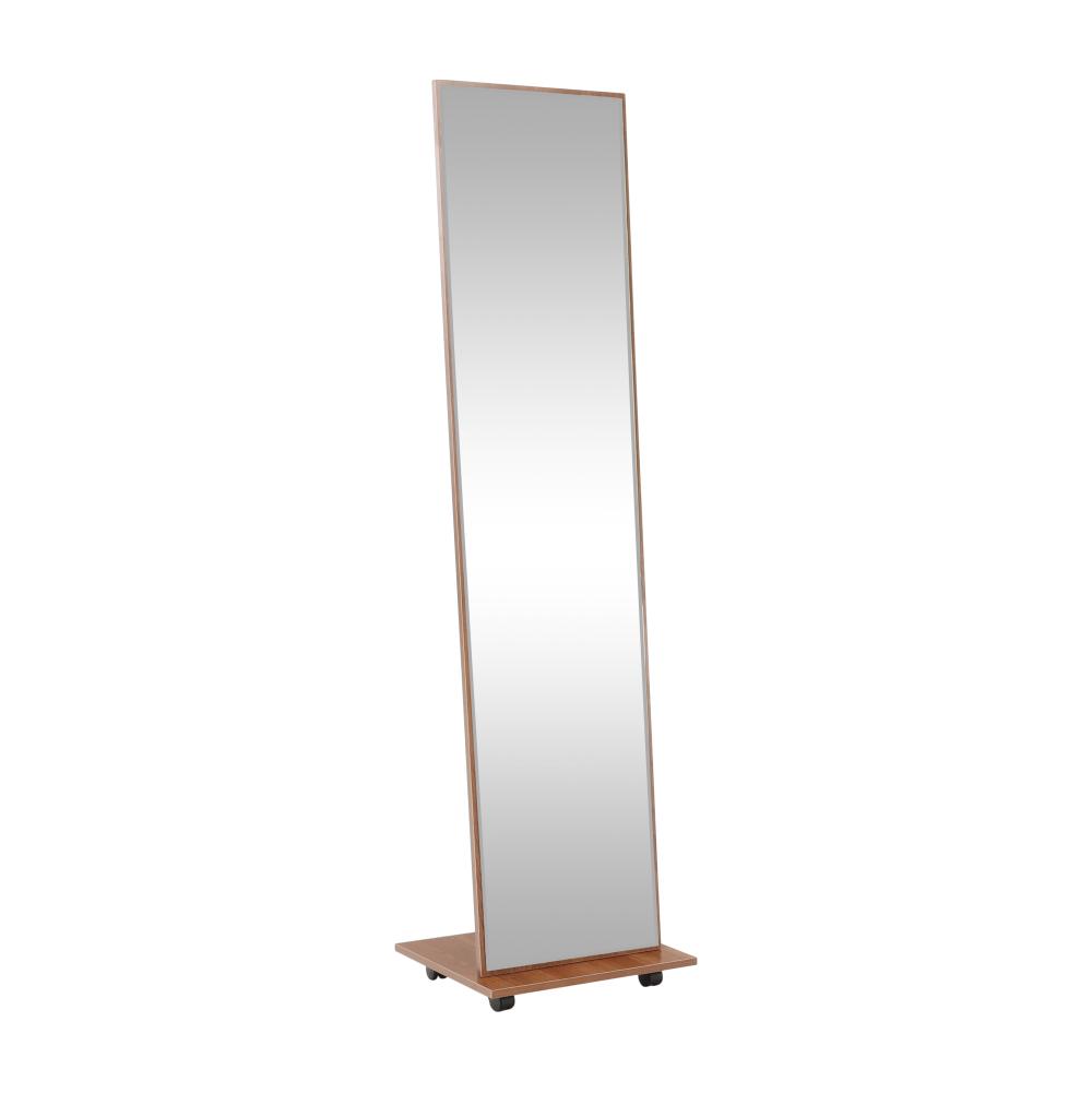 Zrkadlo na kolieskach, hnedá, NEPTUN