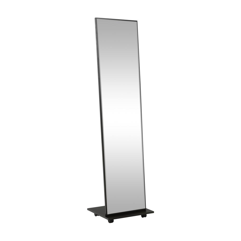 Oglindă cu roţi, negru NEPTUN