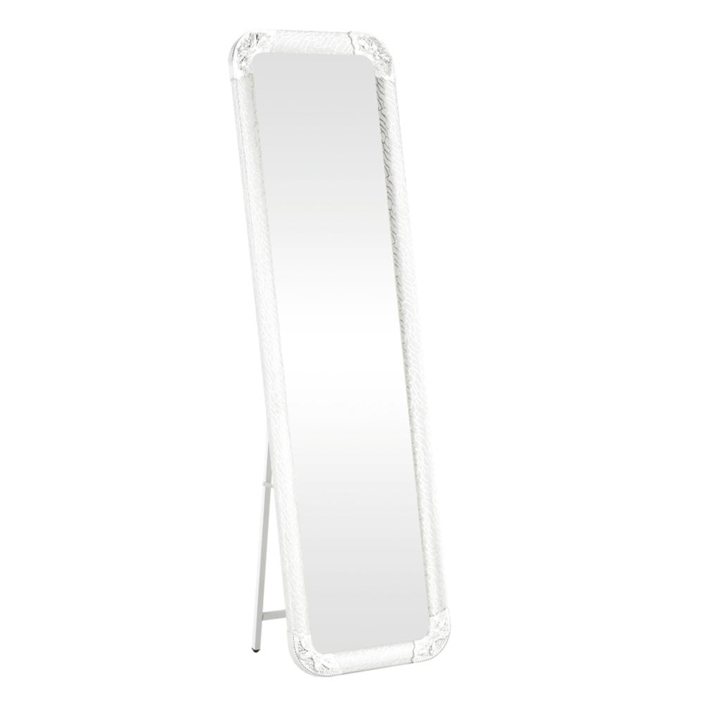 Oglindă de podea, argintie, EZRIN