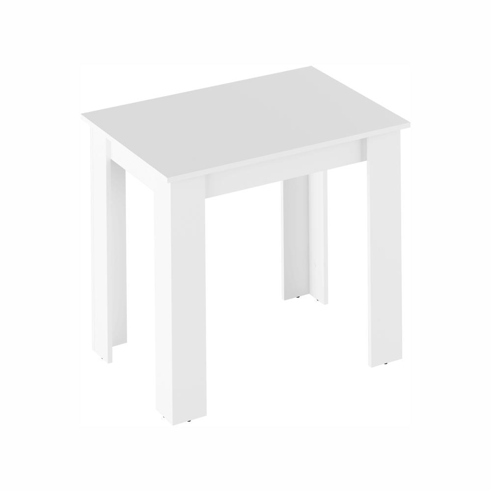Masă dining, alb, TARINIO