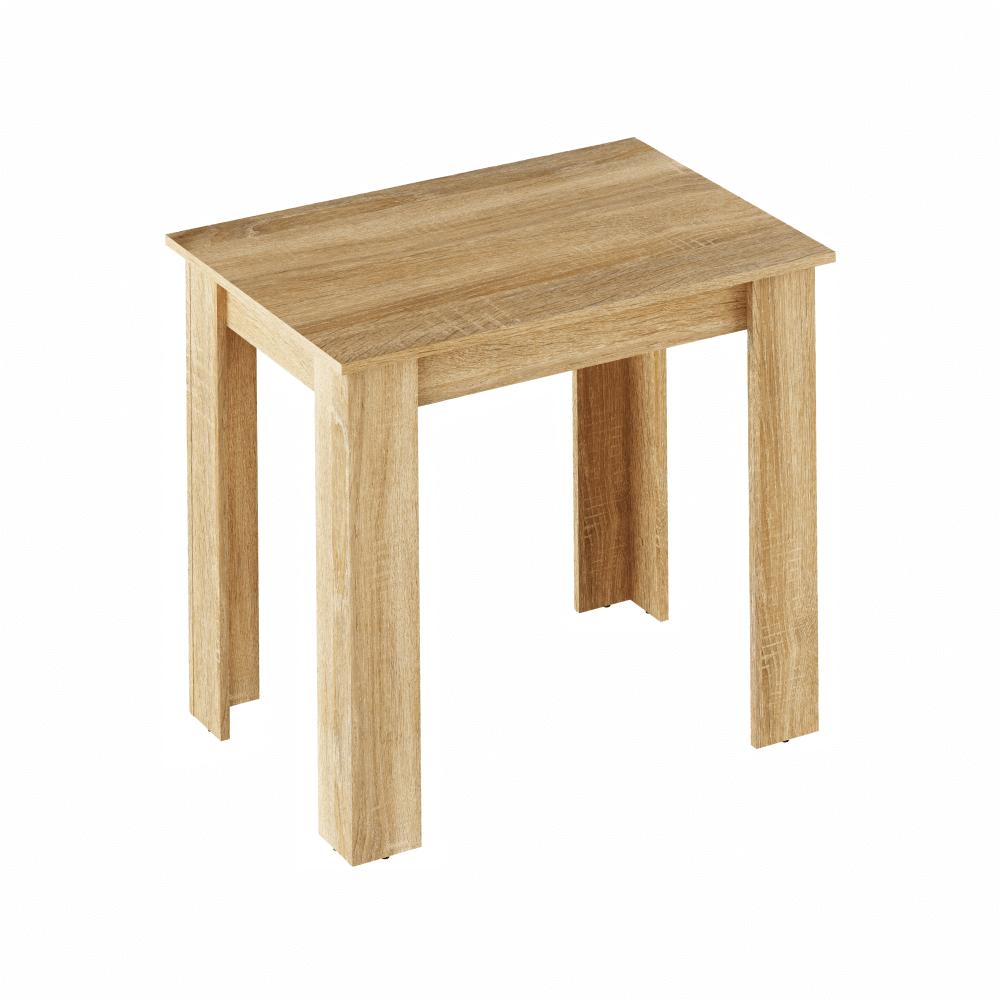 Jedálenský stôl, dub sonoma, 86x60 cm, TARINIO