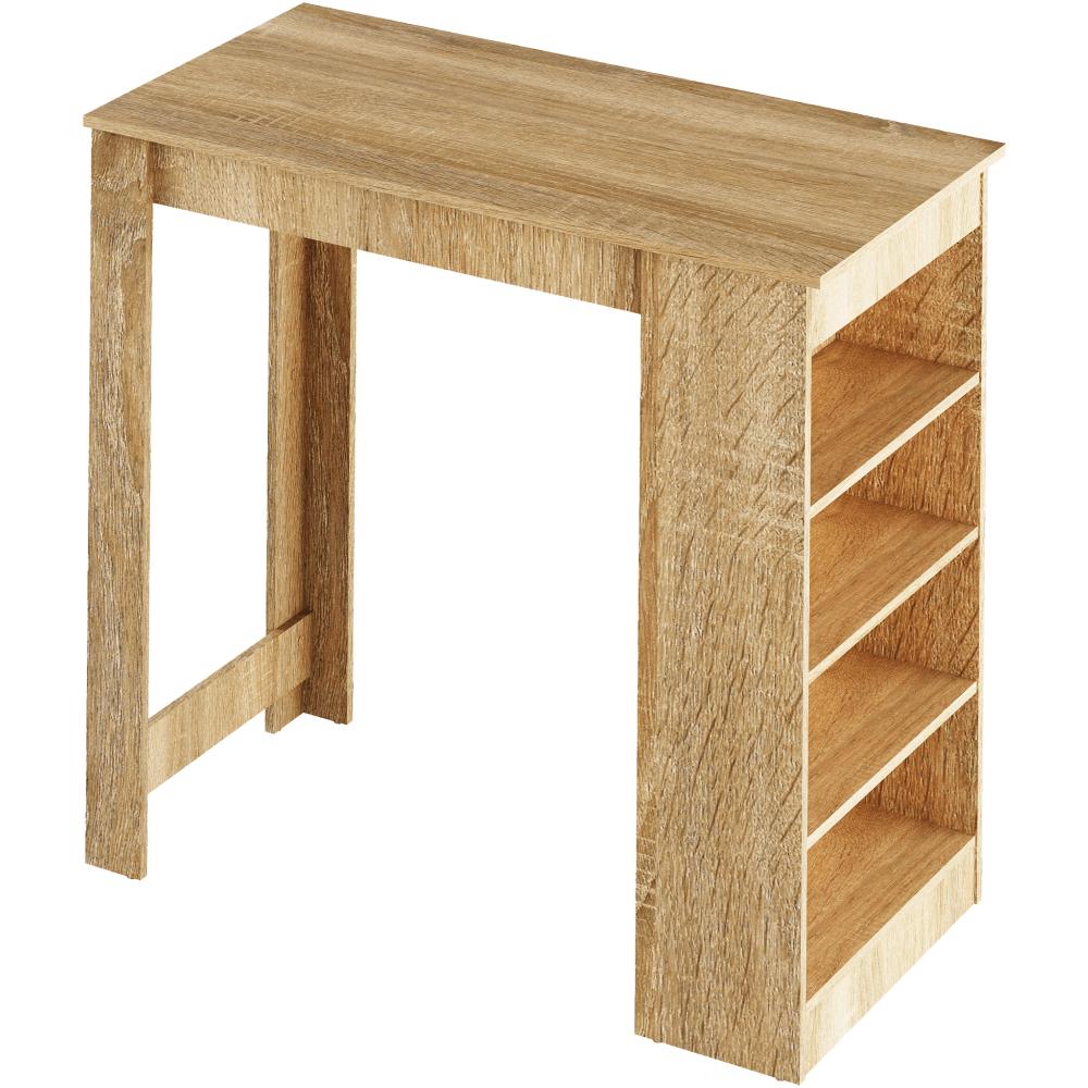 Barový stůl, dub sonoma, Austen
