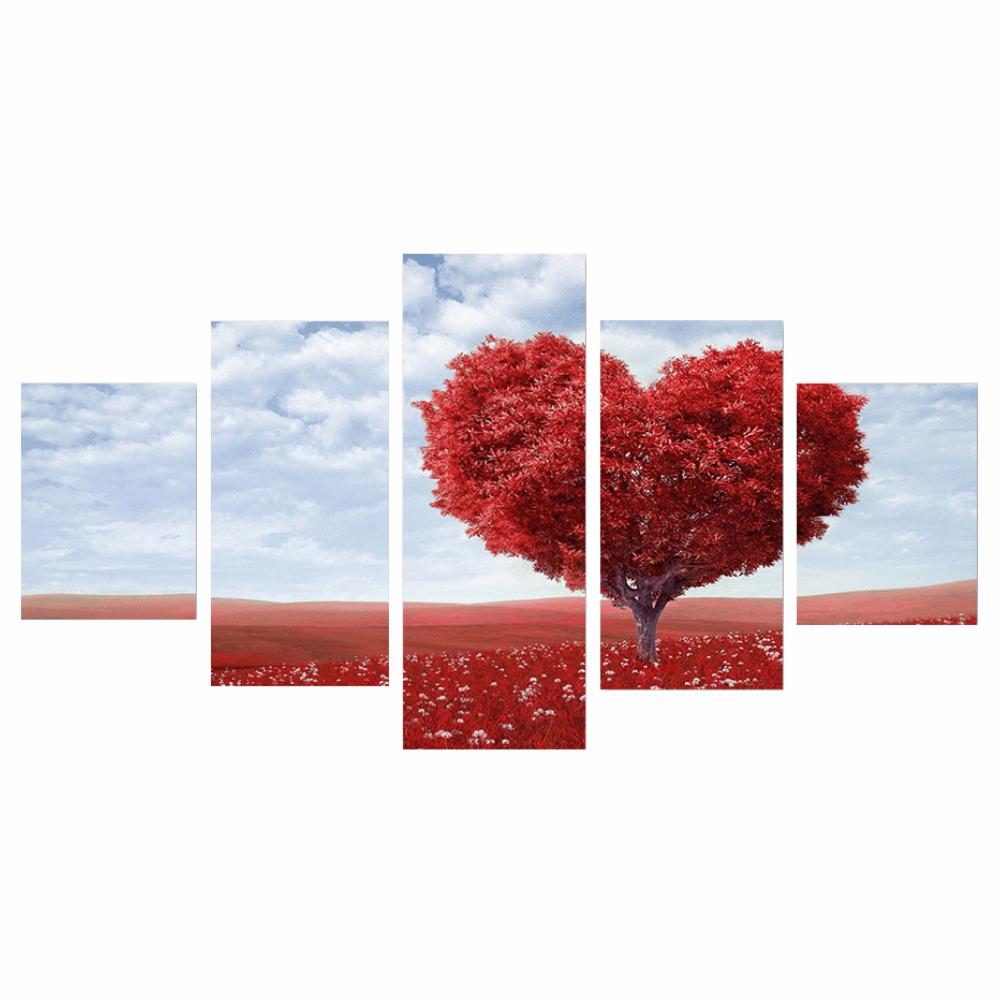 Vászonra nyomtatott kép, sokszínű, DX TYP 25 SZÍV