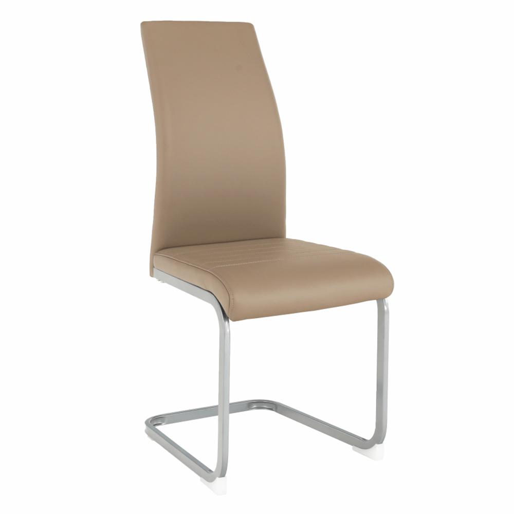 Jedálenská stolička, sivohnedá TAUPE/sivá, NOBATA