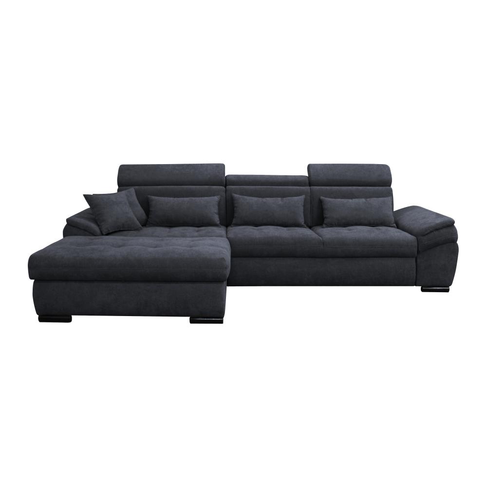 Canapea, gri, model stânga, NATIK NEW