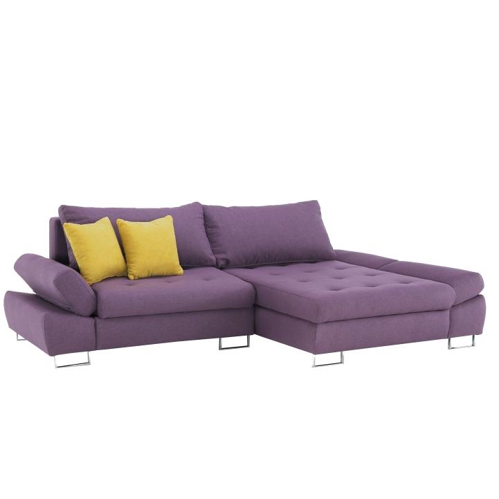 Set canapea, material Orinoco violet / muştar, dreapta, GRES