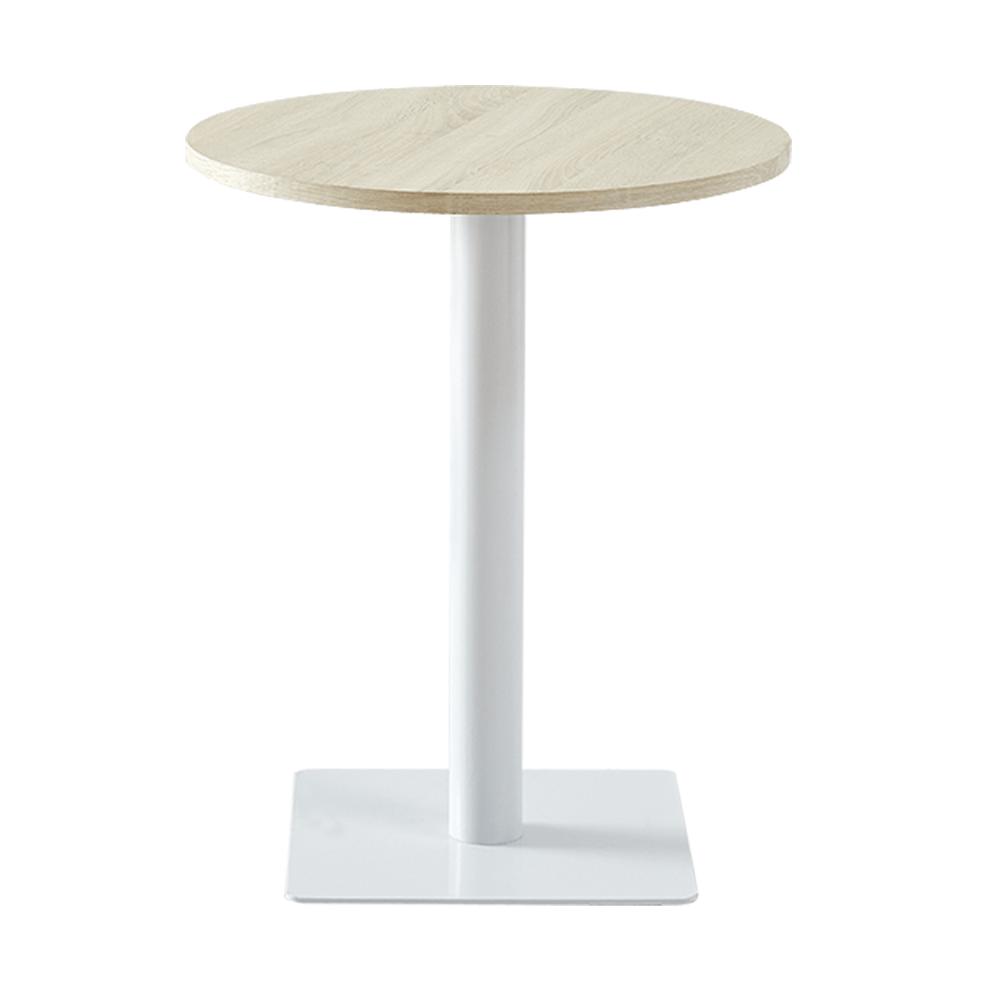 Jedálenský stôl, prírodná/biela, TABIT