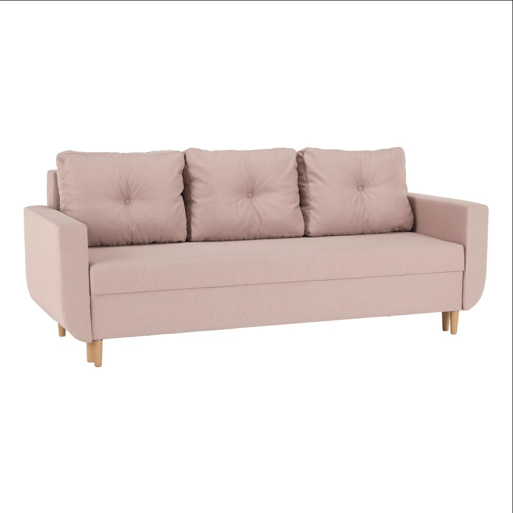 Canapea extensibilă, roz învechit, DOREL
