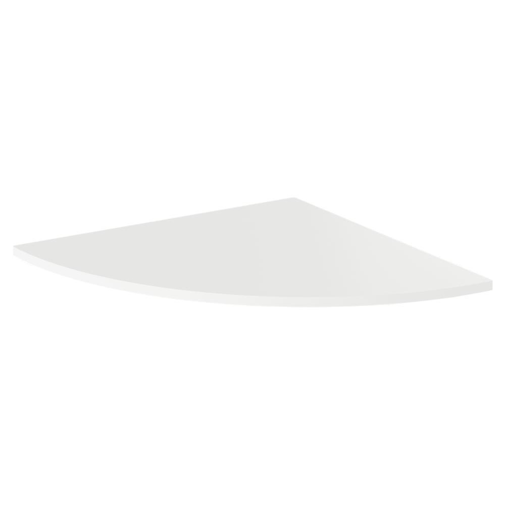 Roh k PC stolu, biela, RIOMA TYP 13