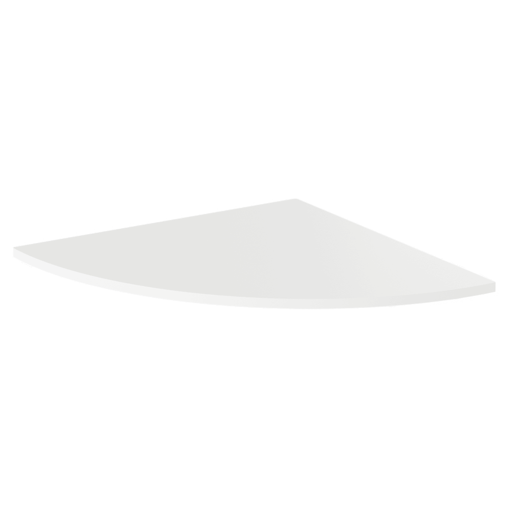 Colţ la masa pt. calculator, alb, RIOMA TYP 13