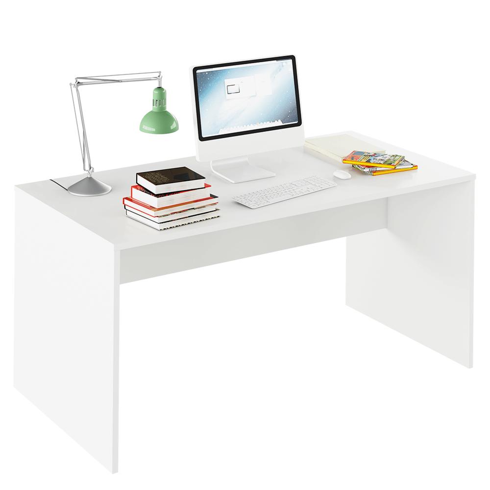 Masă de scris, alb, RIOMA TYP 16
