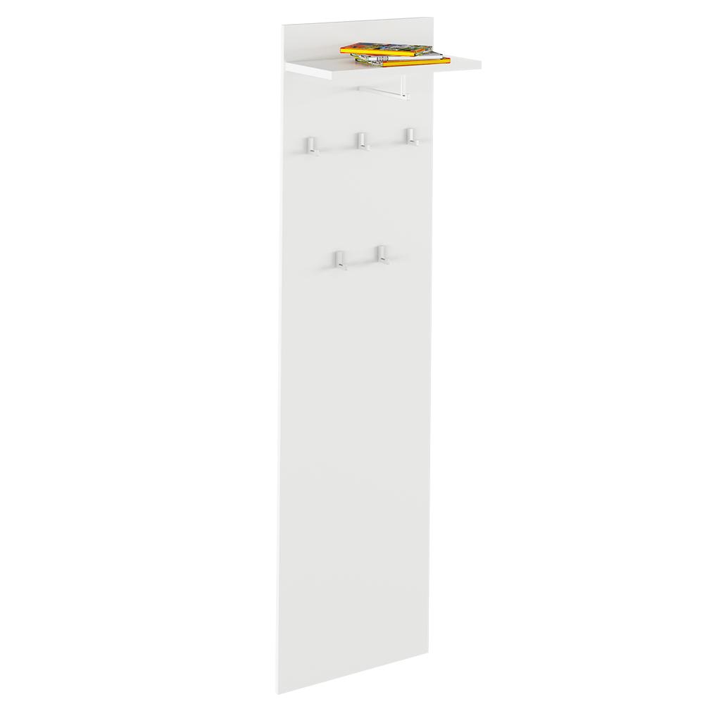 Vešiakový panel, biela, RIOMA TYP 19