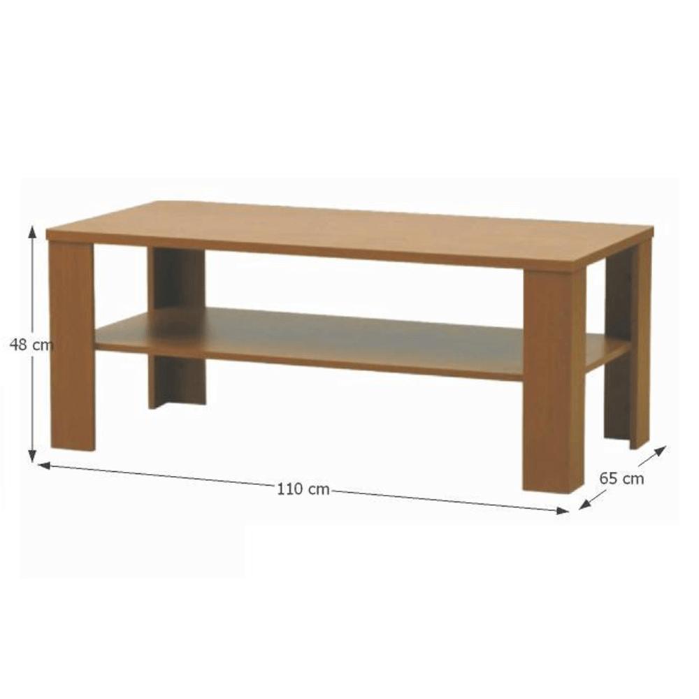 Konferenční stolek, švestka, INTERSYS 22, TEMPO KONDELA