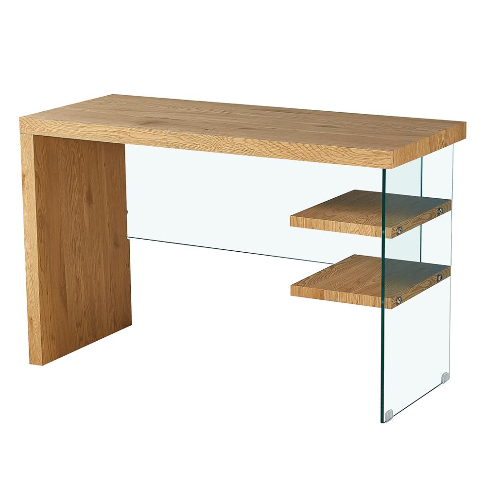 Konzolový/písací stolík, dub, ENRIK