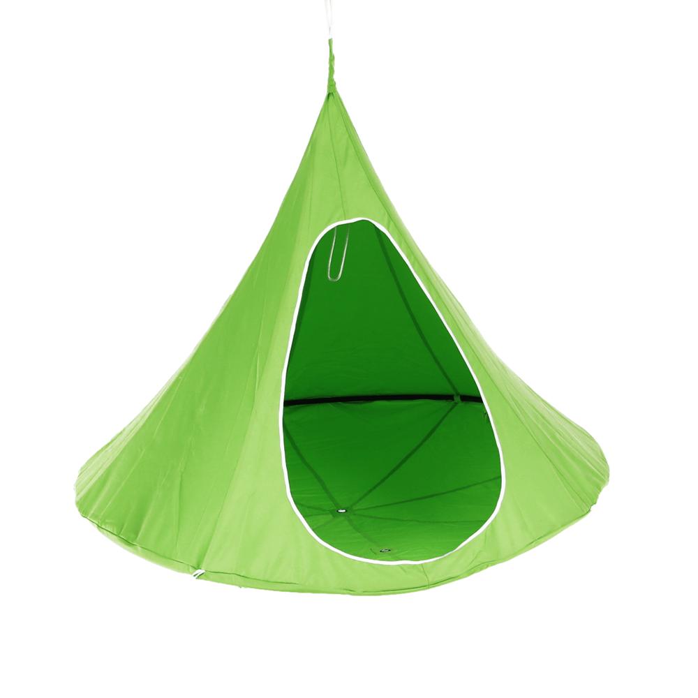 Scaun suspendabil balansoar, verde, KLORIN NEW KLASIK