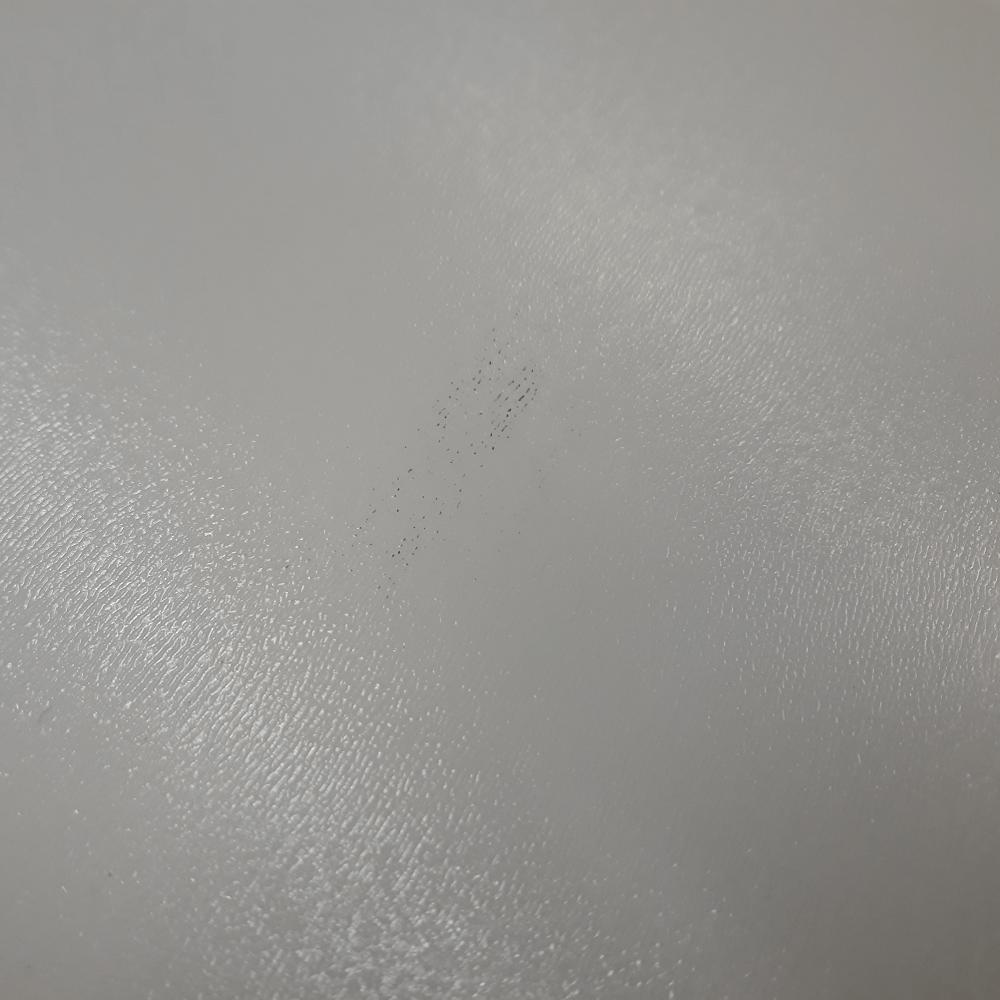 Skrinka horná, biely vysoký lesk HG, LINE BIELA G80, poškodený tovar