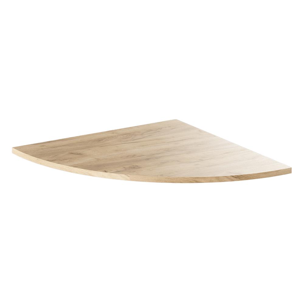 Colţ la masa de calculator, stejar artisan, RIOMA TYP 13