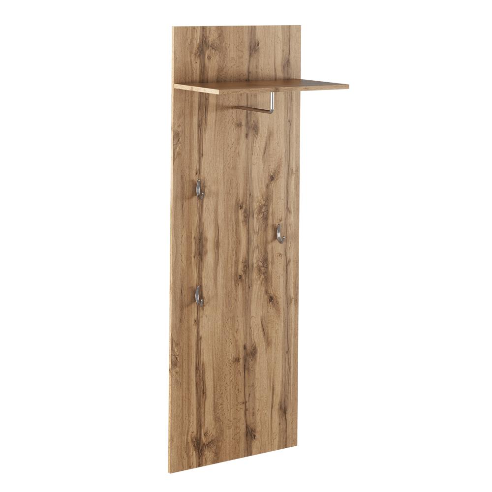 Vešiakový panel TYP 5, dub wotan, CYRIL