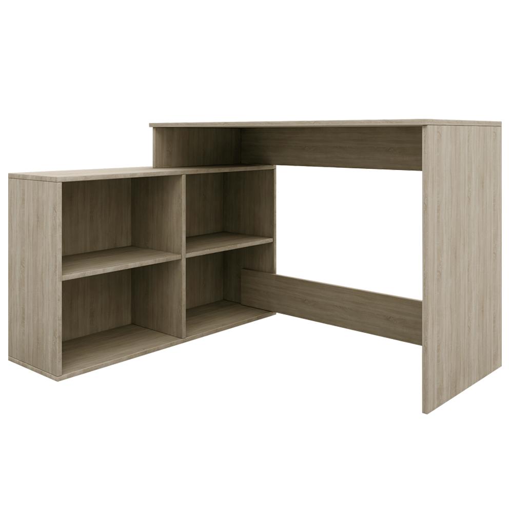 Univerzální PC stolek, dub sonoma, KORNER NEW, TEMPO KONDELA