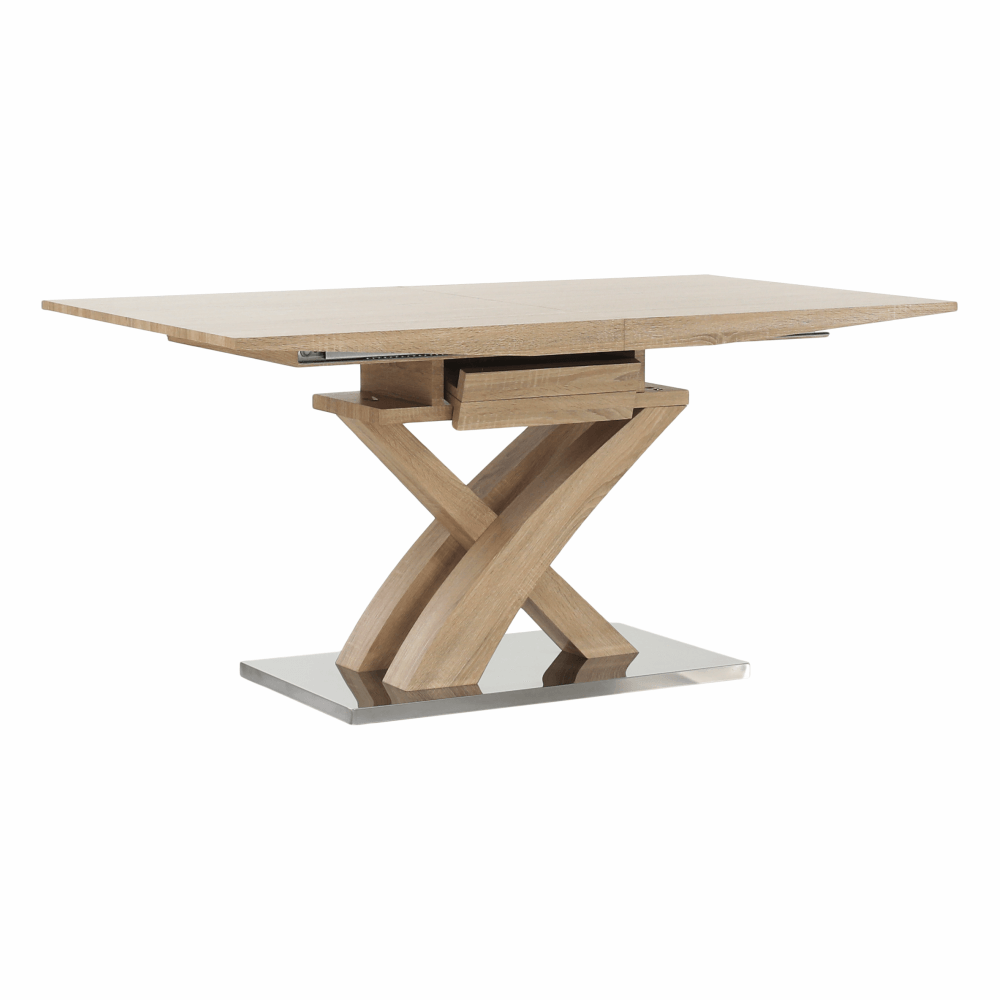 Jedálenský stôl, dub, BONET NEW TYP 2