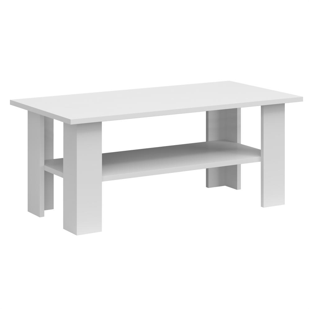 Konferenčný stolík 120, biela, JOLK