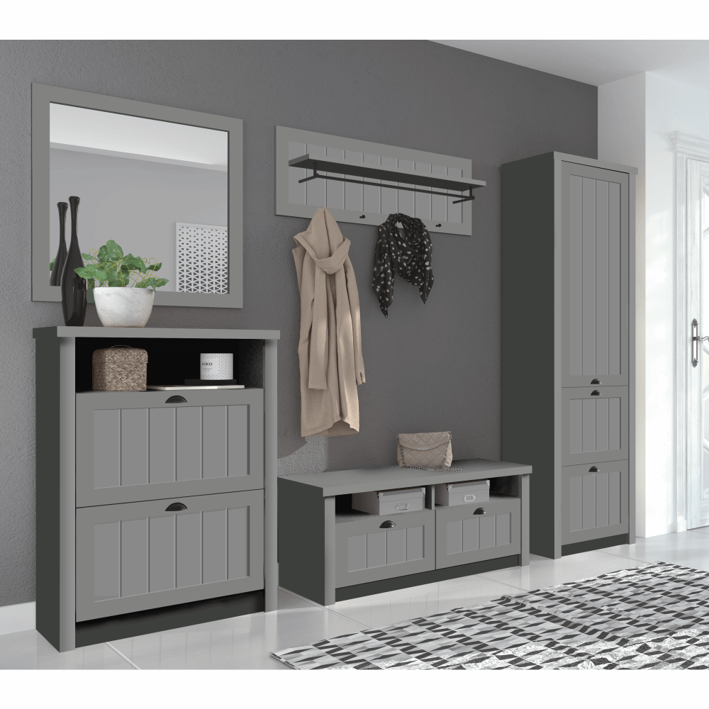 Zrcadlo LS2, šedá, PROVANCE