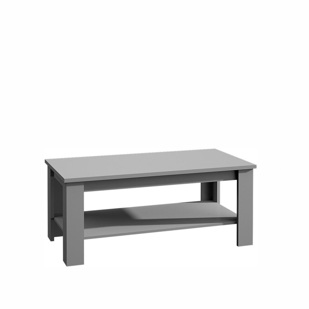 Konferenčný stolík, sivá, PROVANCE ST2