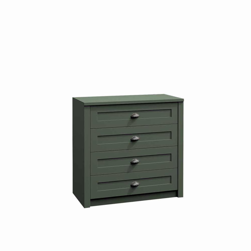 Komód, zöld, PROVANCE K4