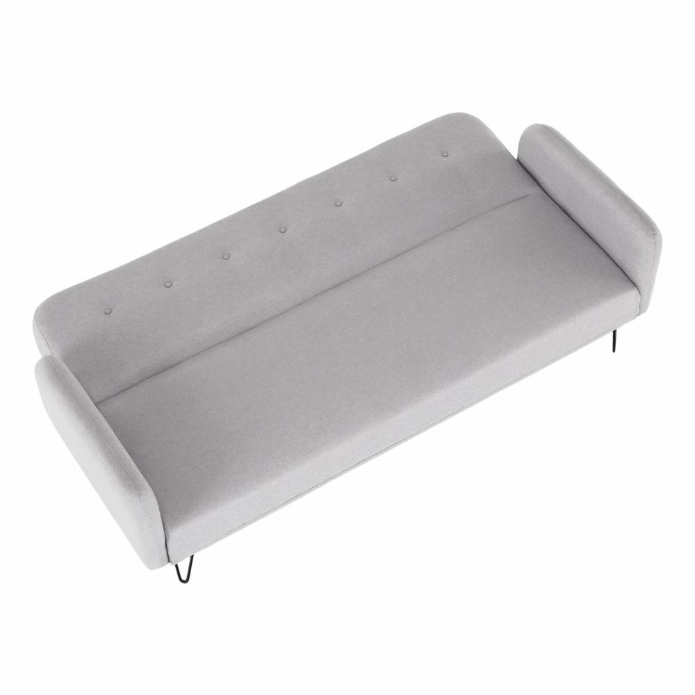 Canapea extensibila Pulsa Gri deschis