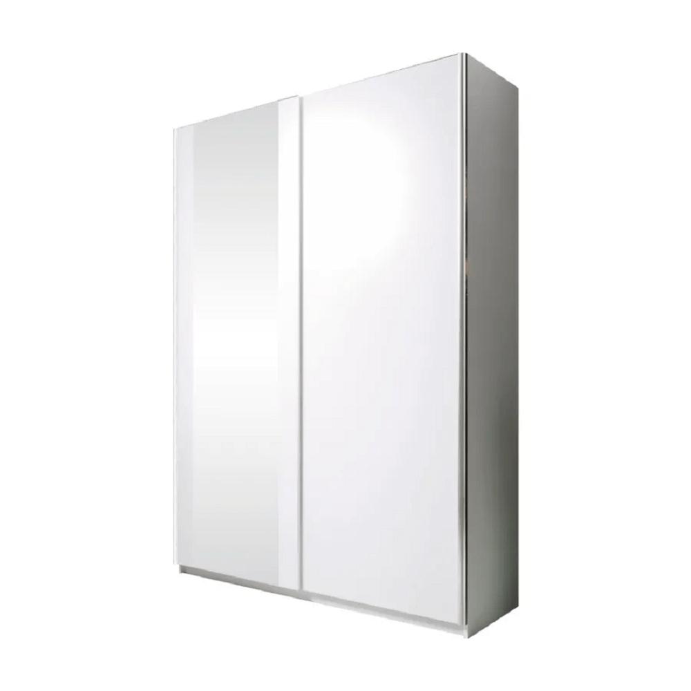 Skriňa s posúvacími dverami, biela, 120, BRYS