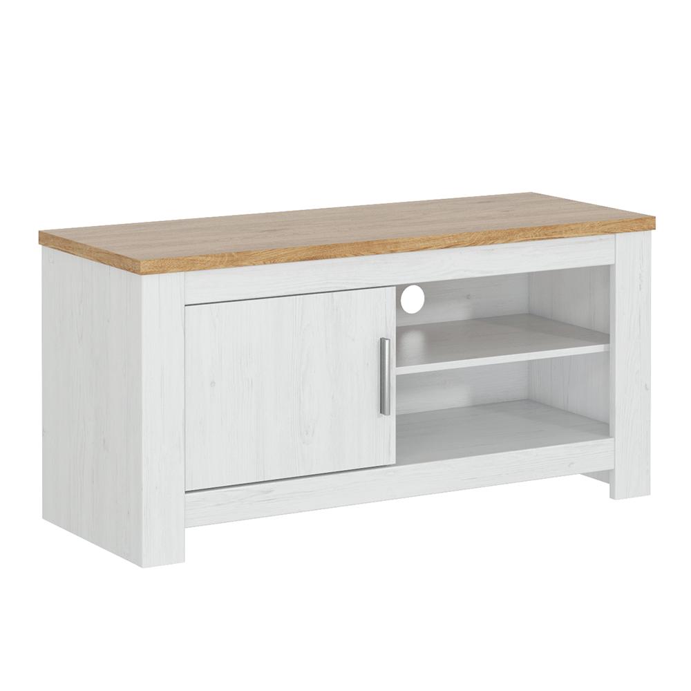 TV asztal, fehér andersen/bernstein tölgy, RENE 118