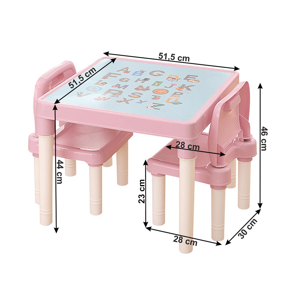Dětský set 1+2, růžová/korálová, BALTO
